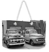 Route 66 Classic Cars Weekender Tote Bag
