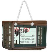 Route 66 Drive-in Theatre Weekender Tote Bag
