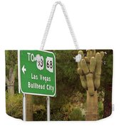 Route 66 - Kingman Arizona Weekender Tote Bag