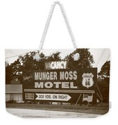 Route 66 - Munger Moss Motel Sign Weekender Tote Bag