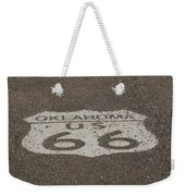 Route 66 - Oklahoma Shield Weekender Tote Bag