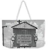 Route 66 - Pig-hip Restaurant Weekender Tote Bag by Frank Romeo