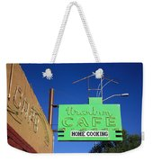 Route 66 - Uranium Cafe Weekender Tote Bag