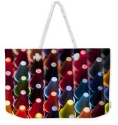 Rows Of Multicolored Crayons  Weekender Tote Bag