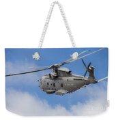 Royal Navy Eh-101 Merlin In Flight Weekender Tote Bag