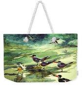 Royal Terns And Black Skimmers Weekender Tote Bag