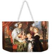 Rubens' Deborah Kip -- Wife Of Sir Balthasar Gerbier -- And Her Children Weekender Tote Bag