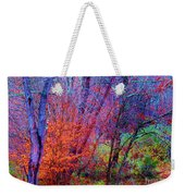 Run Forest Run Weekender Tote Bag