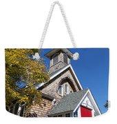 Rural Church Weekender Tote Bag