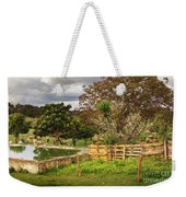 Rural Scene Weekender Tote Bag by Carlos Caetano