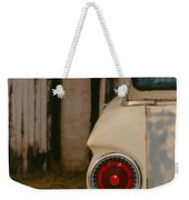 Rusty Car Weekender Tote Bag