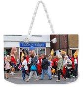 Rye Olympic Torch Relay Weekender Tote Bag