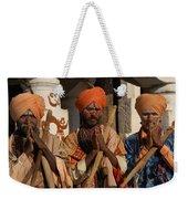 Sadus Holy Men Of India Weekender Tote Bag