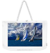 Sailing Let The Four Winds Blow Weekender Tote Bag