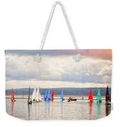 Sailing On Marine Lake A Reflection Weekender Tote Bag