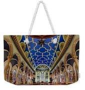 Saint Michael Church Weekender Tote Bag by Susan Candelario