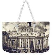 Saint Peters Basilica Rome Weekender Tote Bag