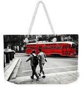 San Francisco Tram Weekender Tote Bag