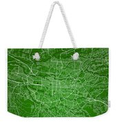San Jose Street Map - San Jose Costa Rica Road Map Art On Colore Weekender Tote Bag