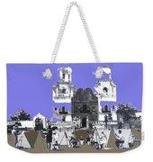 San Xavier Mission Sketched By Art Students C. 1930 Tucson Arizona Weekender Tote Bag