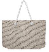 Sand Ripples Abstract Weekender Tote Bag