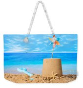 Sandcastle On Beach Weekender Tote Bag