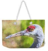 Sandhill Crane Grus Canadensis Weekender Tote Bag