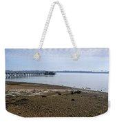 Sandy Beach Weekender Tote Bag