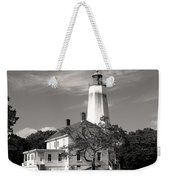 Sandy's Mark Bw Weekender Tote Bag