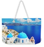 Santorini Island, Greece, Beautiful Weekender Tote Bag