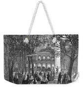 Saratoga Springs, 1865 Weekender Tote Bag