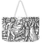 Satan & Sorcerer, 1626 Weekender Tote Bag