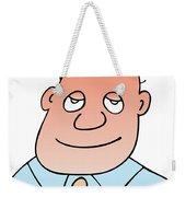 Satisfied Weekender Tote Bag