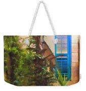 Savannah Window Impasto Weekender Tote Bag