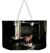 Scary Clown Clawing Window Weekender Tote Bag