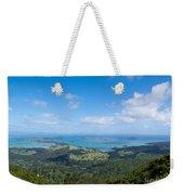 Scenic Coromandel Peninsula Nz Coastline Seascape Weekender Tote Bag