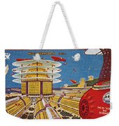 Science Fiction Cover, 1934 Weekender Tote Bag
