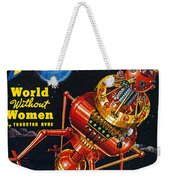 Science Fiction Cover 1939 Weekender Tote Bag