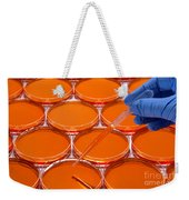 Scientific Experiment In Science Research Lab Weekender Tote Bag