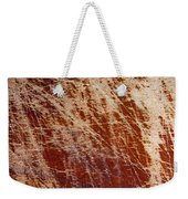 Scratched Wood Texture Weekender Tote Bag