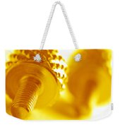 Screw Weekender Tote Bag by Michal Bednarek