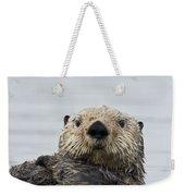 Sea Otter Alaska Weekender Tote Bag
