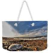 Sea Shell Sea Shell By The Sea Shore At Presque Isle State Park Series Weekender Tote Bag