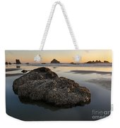 Sea Stacks At Sunset Weekender Tote Bag
