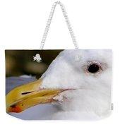 Seagull Portrait Weekender Tote Bag