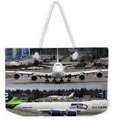 Seahawks 747 Weekender Tote Bag