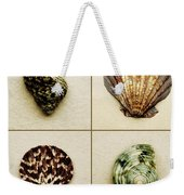 Seashell Composite Weekender Tote Bag