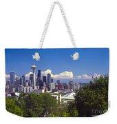 Seattle City View Weekender Tote Bag