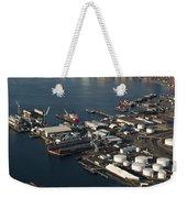Seattle Skyline And South Industrial Area Weekender Tote Bag