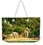 Secluded Beach  Weekender Tote Bag
